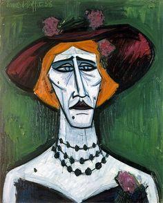 Bernard BUFFET ( 1928 - 1999 ) - Peintre Francais - French Painter: