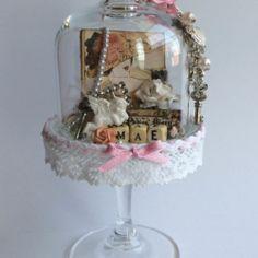 Scrap Decor e Mini Mãe Snow Globes, Paper Crafts, Scrapbook, Blog, Home Decor, Paper Craft Work, Home Interior Design, Scrapbooks, Decoration Home