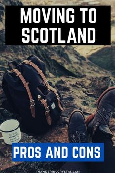 Moving to Scotland and Living in Scotland has tons of pros and cons. Everything from amazing job opportunies to making friends abroad. Read more pros & cons Moving To Scotland, Scotland Travel, Ireland Travel, Scotland Trip, Working Holiday Visa, Working Holidays, Scotland History, Edinburgh Scotland, Edinburgh Travel
