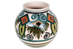French Art Pottery Vase by Quimper