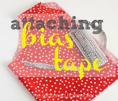 Bias tape (inside finish)