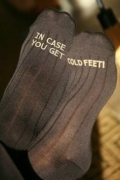 Cure for the Common Cold… Feet? | Weddingbee