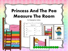 Are you looking for some math center activities to go along with your Fairy Tale Theme? This one may be your answer.  There are 8 pictures to hang around the room for your students to measure along with 3 matching recording sheets for differentiation.