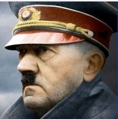 WW2: Evil, pyschotic maniac Adolf Hitler, 1943.