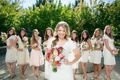 Columbia River Temple LDS Wedding