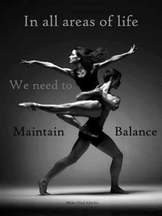 Women play many rolls through out the day but we need to maintain balance in all areas.  We need to keep our center or we can lose our balance. ~ created by Jovita