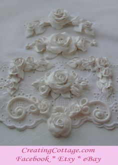 furniture appliques handmade one of a kind