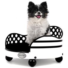 Dots and Stripes #pet #bed (small) from #shopideal. 10% goes to your favorite #nonprofit!