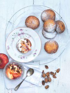 U bramborových koblížků nehrozí, že nasají tuk ze smažení. Pancakes, Eggs, Breakfast, Morning Coffee, Pancake, Egg, Egg As Food, Crepes