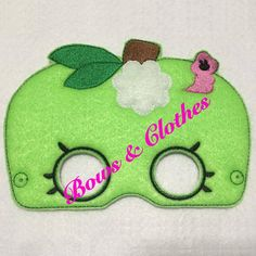 Masks – Page 3 – Bows and Clothes Applique Designs, Embroidery Designs, Printable Masks, Design Files, All Design, Machine Embroidery, Felt, Bows, Apple
