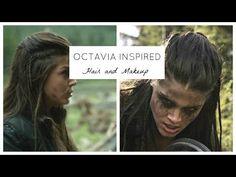 The 100 Hair Tutorial - Octavia - YouTube