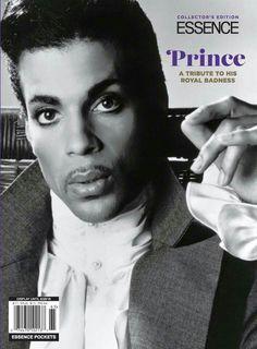 Essence tribute to the #PurpleOne.   #Prince