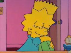 I just love that good morning hug! Cartoon People, Cartoon Memes, Cartoon Pics, Cartoon Drawings, Simpson Wallpaper Iphone, Cartoon Wallpaper, Lisa Simpson, Simpson Tumblr, Good Morning Hug