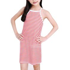 >> Click to Buy << 2017 Summer Baby Girls Long Cotton Vest Children Striped Printed Thin Sleeveless Dress Kids Casual Fashion Tops Clothing #Affiliate