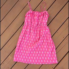 Bright Pink Sun Dress