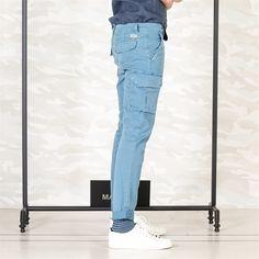 Mason's Pant Cargo model Chile - Masons