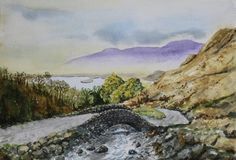 """Lake District"" (watercolour - 19.5cm x 28.5cm (7.5"" x 11""))"