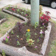 Lemovanie v záhrade