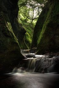 Take a trip to Scotland. (Maybe visit the Finnich Glen)