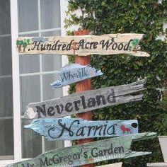 I want to make one of these for my garden or my paths in the woods