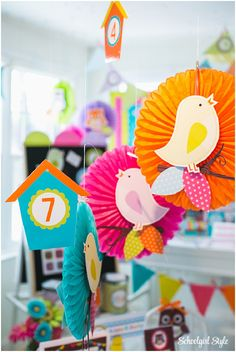 """I know you are probably saying, """"Melanie… you already have an Owl and a Bird theme collection!"""" Well, if you know me, my decorating ideas change on a whim…and this was one …"""