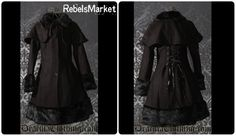 Keep warm during those winter days with this gothic winter coat