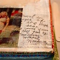 Love her attached Blog, includes soo many tips and tutorials on art journaling, and other related craft and fiber items.  LOVE