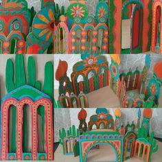 Mexican Hacienda 1 Backdrops Hacienda Latin American