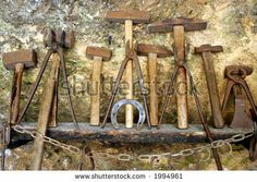 Tools In Old Blacksmith Shop Stock Photo 1994961 : Shutterstock