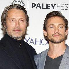 Just because they are perfect! #Madancy #MadsMikkelsen #HughDancy #Hannibal #WillGraham #Hannigram