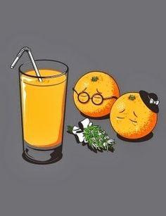 Frases, chistes, anécdotas, reflexiones, Amor y mucho más.: Homor gráfico. Jugo de naranja.