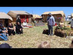 Visitando las Islas Flotantes de Los Uros Lago Titicaca - Perú - YouTube