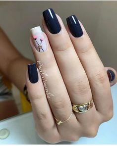 Nail beauty is one of the sine qua non for women. Therefore, different nail designs designed for you Fall Nail Art Designs, Pink Nail Designs, Acrylic Nail Designs, Acrylic Nails, Elegant Nails, Stylish Nails, Trendy Nails, Perfect Nails, Gorgeous Nails