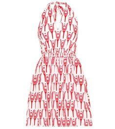 Buy it now. Exclusive to mytheresa.com – printed cotton halter dress. Exclusive to mytheresa.com – red and white printed cotton halter dress by Miu Miu , vestidoinformal, casual, camiseta, playeros, informales, túnica, estilocamiseta, camisola, vestidodealgodón, vestidosdealgodón, verano, informal, playa, playero, capa, capas, vestidobabydoll, camisole, túnica, shift, pleat, pleated, drape, t-shape, daisy, foldedshoulder, summer, loosefit, tunictop, swing, day, offtheshoulder, smock, ...