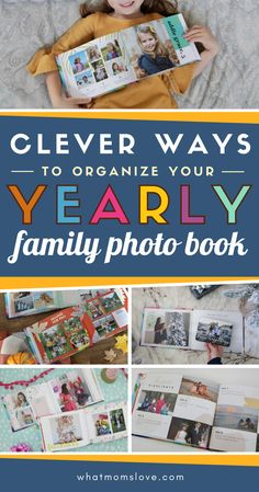 Tips for how to create a year-in-review family photo book | Creative ways to organize photos and layout inspiration. Plus review of the best photo book site to use to easily create a modern family yearbook. Mom Hacks, Life Hacks, Pictures Of You, Cool Pictures, Best Photo Books, Stop Whining, Strong Willed Child, Book Sites, Book Organization