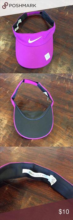 cfc2466a1a4 Brand new women s Nike Golf visor hat Pretty purple pink color women s Nike  golf visor hat