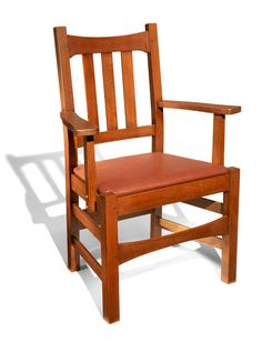 Stickley arm chair woodworking projects american woodworker