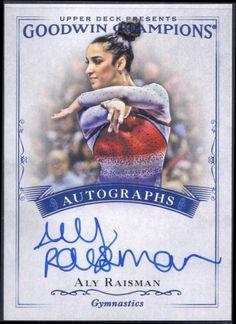 2016 Goodwin Champions Aly Raisman autograph