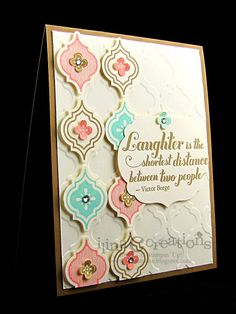 Mosaic Madness by ilinacrouse - Cards and Paper Crafts at Splitcoaststampers