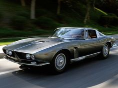 1963 Iso Grifo A3L prototype by Bertone (photo by Ken Brown)