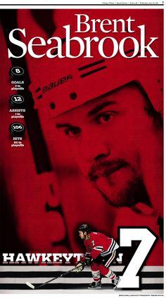 Brent Seabrook, Chicago Blackhawks #7