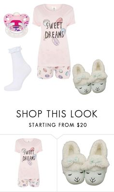 """""""sleepy little"""" by athena420 ❤ liked on Polyvore featuring Chelsea Peers and Topshop"""