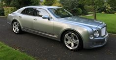 Here's A New One: Lister Promotes Sale Of CEO's Personal Bentley Mulsanne #Auction #Bentley
