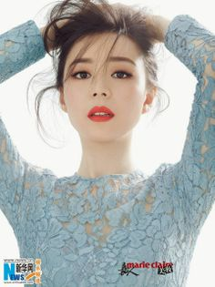Chinese actress Zhang Jingchu covers 'Marie Claire' magazine | China Entertainment News