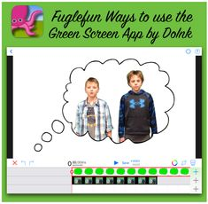 How to show movement in Art or for any subject. Here is a great video on how Tricia Fuglestad gave her students thought bubbles and some great effects with Green Screen by Do Ink.