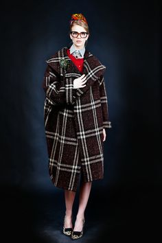 """STELLA JEAN - """"Wax & Stripes philosophy"""". she is lovelee in all her plaidness"""