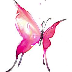 butterfly in water color - Pesquisa Google