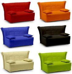 divano letto azzurro idelshop | divani-letto | pinterest - In Pelle Bianca Con Letti Singoli Divano Letto
