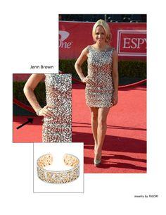 #Tacori #FallBling Jenn Brown ESPY's 2012 -Tacori FallBling