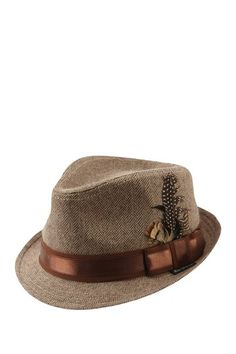 Ben Sherman Herringbone Trilby Fedora by Non Specific on @HauteLook